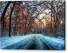 Colorful Winter Acrylic Print
