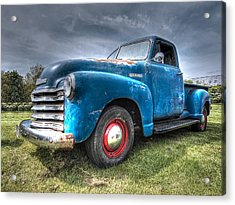 Colorful Workhorse - 1953 Chevy Truck Acrylic Print
