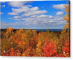Colors Above Lake Superior Acrylic Print