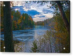 Colors At Tahquamenon Falls Acrylic Print
