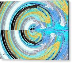 Colors Acrylic Print by David Alvarez