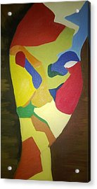 Colors  Acrylic Print by Faria  Ehsan