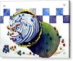 Colors For The Palate Acrylic Print by Ruth Bodycott