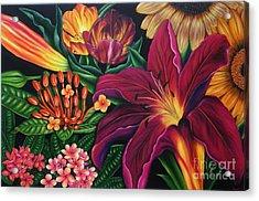 Colors Garden Acrylic Print