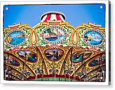 Colors Of A Carousel Acrylic Print