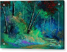 Colors Of A Dream Acrylic Print by Steven Lebron Langston