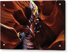 Acrylic Print featuring the photograph Colors Of Antelope Canyon by Dan Myers
