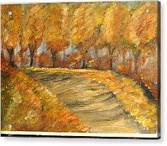 Colors Of Autumn Acrylic Print by Corina  Lupascu