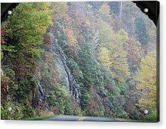 Colors Of Fall Acrylic Print by Melony McAuley