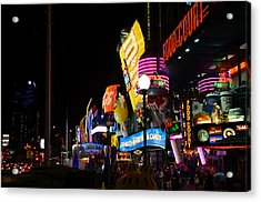 Colors Of Las Vegas Acrylic Print