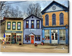 Colors Of Metamora 2 Acrylic Print by Mel Steinhauer