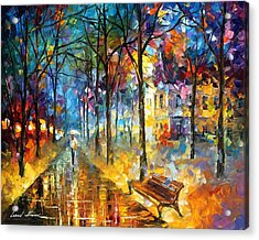 Colors Of My Past Acrylic Print by Leonid Afremov