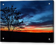 Colors Of Nature - Sunrise 001 Acrylic Print by George Bostian