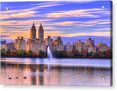 Colors Of New York Acrylic Print by Midori Chan