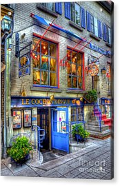 Colors Of Quebec 3 Acrylic Print by Mel Steinhauer