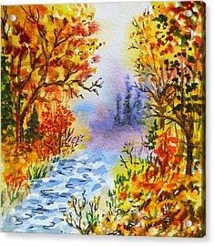 Colors Of Russia Autumn  Acrylic Print