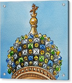 Colors Of Russia St Petersburg Cathedral IIi Acrylic Print