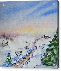 Colors Of Russia Winter Acrylic Print