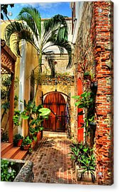Colors Of Saint Thomas 1 Acrylic Print by Mel Steinhauer