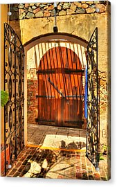 Colors Of Saint Thomas 2 Acrylic Print by Mel Steinhauer