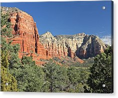 Acrylic Print featuring the photograph Colors Of Sedona by Penny Meyers