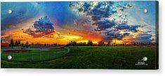 Colors Of Shadle Park Acrylic Print by Dan Quam
