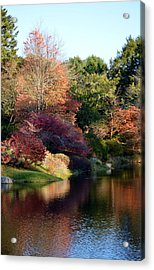 Colors Of Still Waters Glow Acrylic Print by Lena Hatch