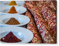 Colors Of The Orient - By Sabine Edrissi Acrylic Print