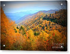 Colors Of The Smokies Acrylic Print