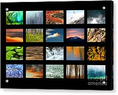 Acrylic Print featuring the photograph Colors Of Yellowstone by Clare VanderVeen