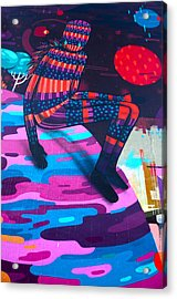 Colors Revolution Acrylic Print by Laura Jimenez