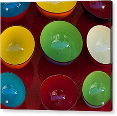 Colors Tray Acrylic Print
