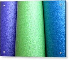 Colorscape Tubes A Acrylic Print