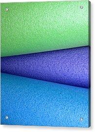 Colorscape Tubes B Acrylic Print