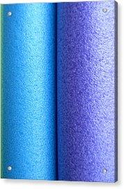 Colorscape Tubes C Acrylic Print