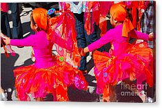 Colors....coordinated Acrylic Print