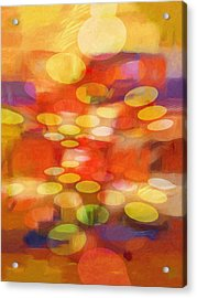 Colorspheres Acrylic Print by Lutz Baar
