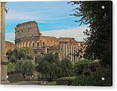 Colosseum Afar Acrylic Print