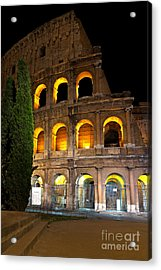 Acrylic Print featuring the photograph Colosseum by Francesco Emanuele Carucci
