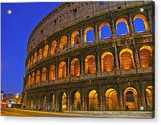 Colosseum Lights Acrylic Print