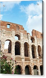 Colosseum Or Flavian Amphitheatre Acrylic Print