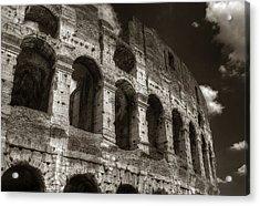 Colosseum Wall Acrylic Print