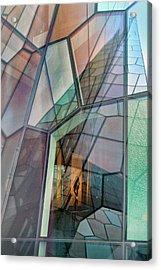 Colour Mosaic Acrylic Print by Jure Kravanja