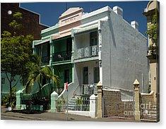 Colourful Australian Terrace House Acrylic Print