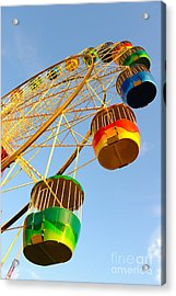 Colourful Ferris Wheel Acrylic Print