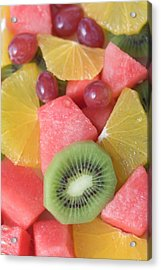 Colourful Fruit Salad (full-frame) Acrylic Print