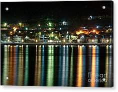 Colourful Night Acrylic Print by Ciprian Kis
