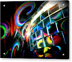Colourful Reflections Acrylic Print