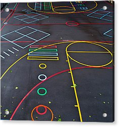 Colourful School Playground Acrylic Print