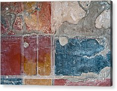 Colours Of Herculaneum Acrylic Print by Marion Galt
